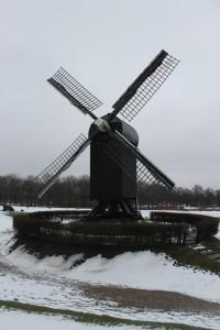 Die Windmühle von Bourtange ist eine Rekonstruktion aus dem Jahr 1980
