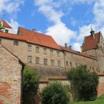 Burg Trausnitz: Nach Großbrand von 1961 wieder aufgebaut