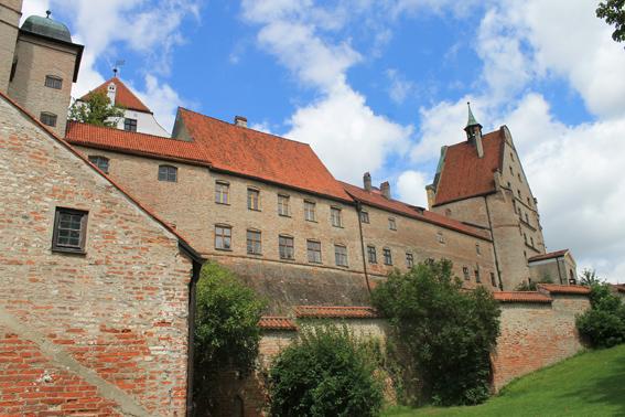 Burg Trausnitz wurde nach dem Brand von 1961 umfassend restauriert