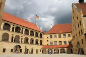 Der Innenhof von Burg Trausnitz / Foto: Burgerbe.de