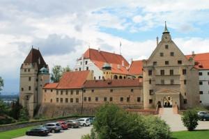 Burg Trausnitz wurde nach dem Brand von 1961 umfassend restauriert. Foto: Burgerbe.de