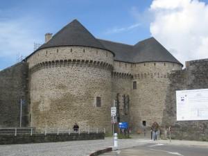 Eingang zum Chateau Brest