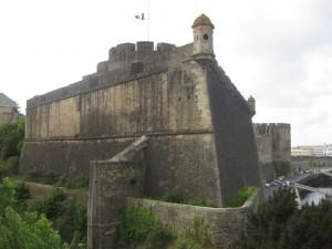 Die Bastionen der Festung Brest
