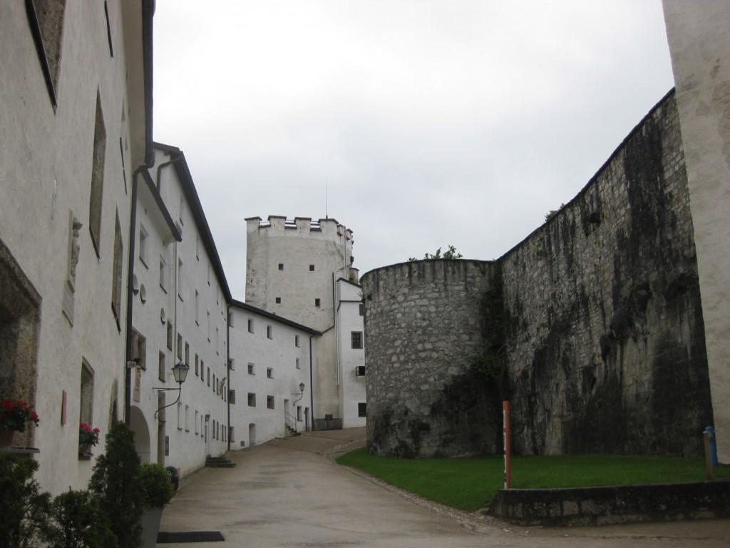 Innenhof der Festung.
