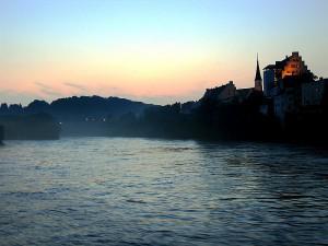 Wasserburg: Blick auf Inn und Burg. Foto: Wikipedia/waterborough