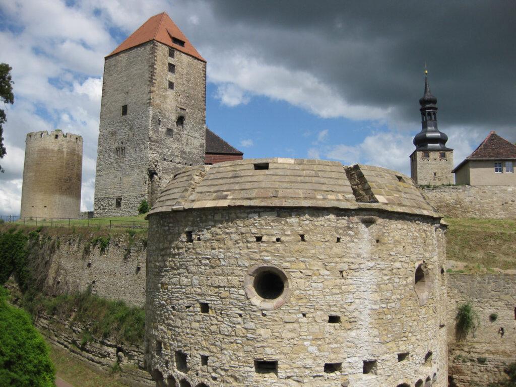 Blick auf Burg Querfurt / Foto: Burgerbe.de