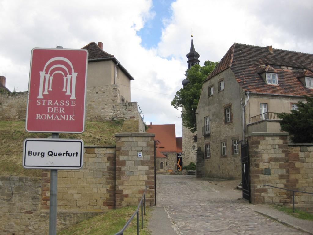 Eingang zur Burg Querfurt / Foto: Burgerbe.de