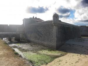 Die Zitadelle im Gegenlicht