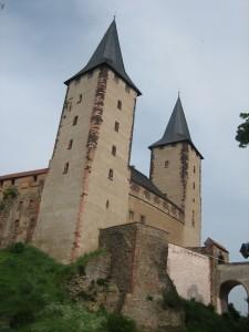 Schloss Rochlitz - Fundort prinzlicher Graffitis.