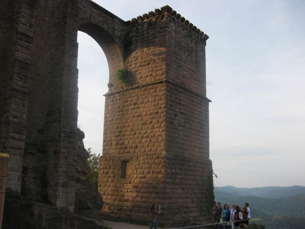 Burg trifels bogen