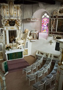 Innenansicht der Kapelle von Burg Bodenstein  / Foto: Wikiepdia/pixlux.de