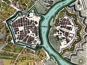 Die Festung Dresden um 1750 / Foto: Wikipedia, Urheberrecht abgelaufen