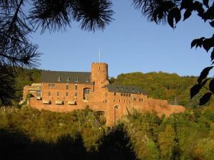 Janosch stellt auf Burg Hengebach in der Eifel aus. Foto: Wikipedia/Kateer