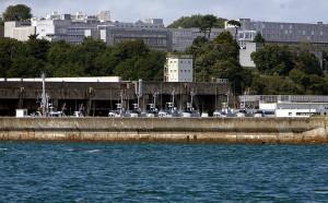 Die U-Boot-Zellen von der Seeseite aus / Foto: Wikipedia/Rama