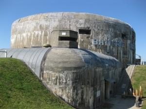 Batterie Todt: Der Bunker