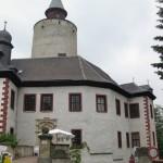 Burg Posterstein: Besucher nutzen Geheimgang
