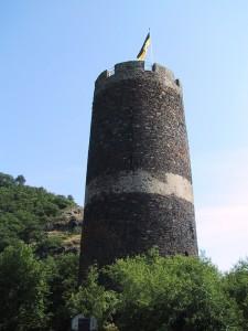 Der Burgturm von Bischofstein