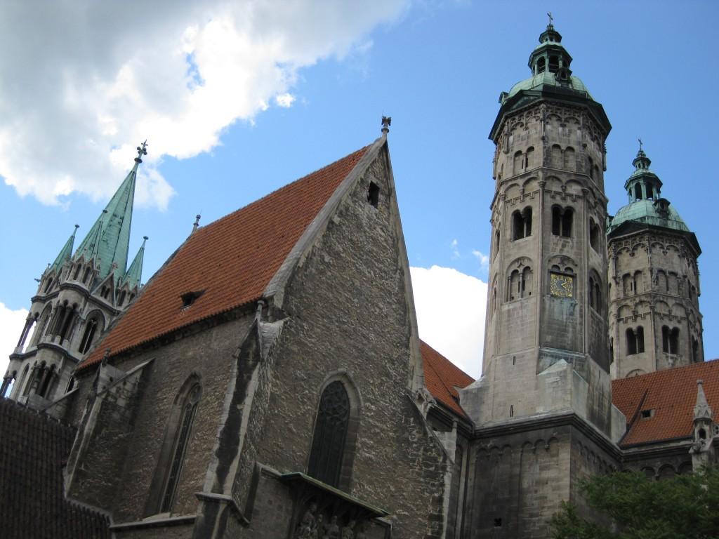 Der Naumburger Dom, seit der Reformation evangelisch