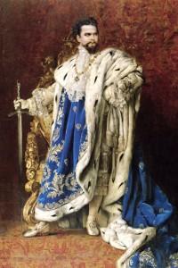 König Ludwig II. gab reichlich Steuergeld aus, auch für sein Schreibzeug. / Bild: Wikipedia/Public Domain