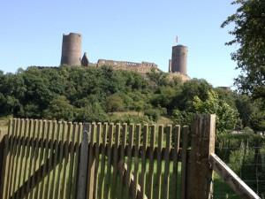 Die zwei Türme von Burg Münzenberg