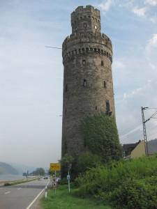 Der Ochsenturm in Oberwesel - Symbol städtischen Selbstbewußtsein aus dem Mittelalter