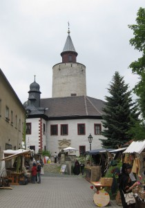 Mittelaltermarkt auf Burg Posterstein