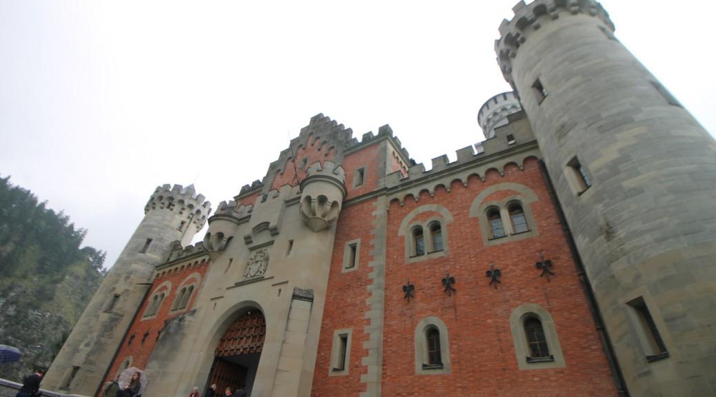 Schloss Neuschwanstein Eingang