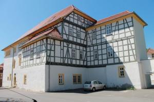 Reichlich Fachwerk: Schloss Behringen