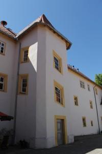 Schloss Behringen: Der Treppenturm