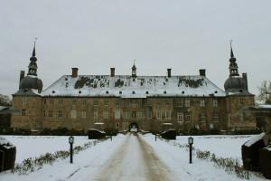 Schloss Lembeck: Herrenhaus-Fassade