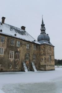Schloss Lembeck mit malerischen Türmchen