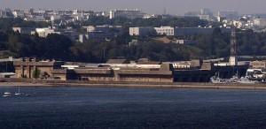 Der Bunker in Brest heute von der Seeseite / Foto: Wikipedia/Thomas Philipp
