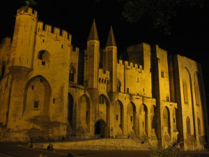 Avignon, der Papstpalast
