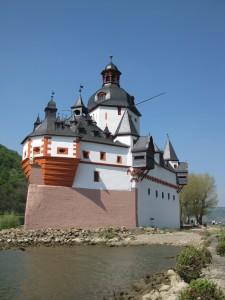 Zollburg Pfalzgrafenstein im Rhein