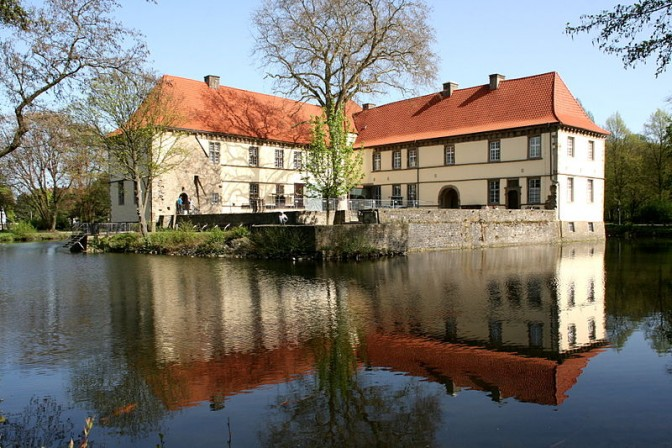 Schloss Strünkede in Herne / Foto: Wikipedia / Frank Vincentz / CC-BY-SA 4.0