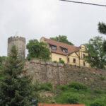 Die Schönburg: Freier Blick über die Saale
