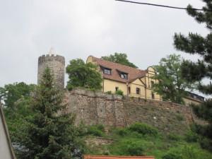 Die Schönburg über der Saale