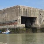St. Nazaire: Der Schleusenbunker zum U-Boot-Hafen
