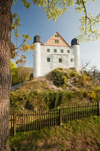 Das Zeughaus von Schloss Schwarzburg Foto: Wikipedia/Heideburg
