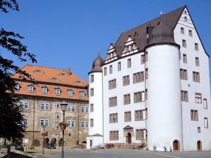 Weißes Schmuckstück - Schloss Heringen heute. Foto: Wikipedia/GFHund