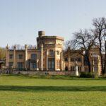 Schloss Babelsberg wird eingerüstet