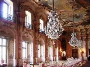 Barocke Opulenz: Der Festsaal von Schloss Bückeburg Foto: Wikipedia/Beckstet