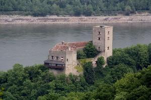 Burg Greifenstein in Niederösterreich steht zum Verkauf. Foto: © Bwag / Wikipedia