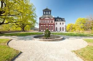 Schloss Schwarzburg: Das Kaisersaalgebäude / Foto: Wikipedia/Heide