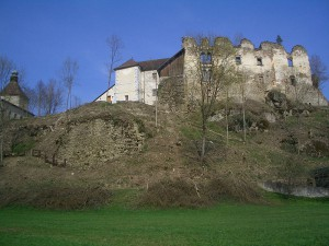 Blick auf die Ruine von Burg Reichenstein im oberösterreichischen Mühlviertel / Foto: Wikipedia/Martin Windischhofer
