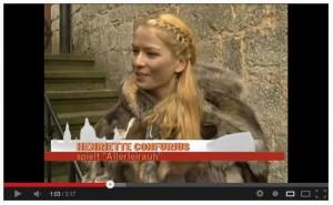 Für das Märchen Allerleirauh wurde auch auf Schloss Marienburg gedreht / Foto: Screenshot Youtube