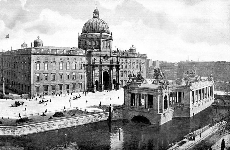Das Berliner Stadtschloss in einer Fotografie um 1900 / Foto: Public Domain