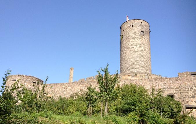 Burg Münzenberg in der Wetterau