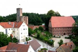 Das bayerische Hilpoltstein mit seiner Burg / Foto: Wikipedia/Felix Erbe