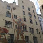 Bürgerlicher Burgenbau: Regensburgs Goliathhaus und der Goldene Turm